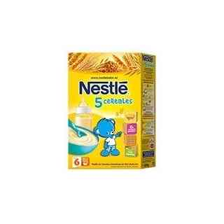 NESTLE 5 CEREALES PAPILLA 600G